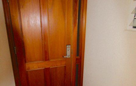 Secure lock and door