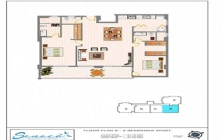 seneca residences 2 beds 3