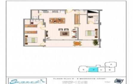 seneca residences 2 beds 4