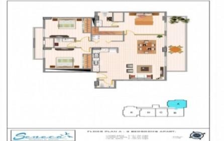 seneca residences 3 beds 3