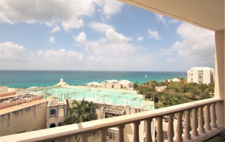 rainbow ocean view rental apartment in cupecoy​ 3