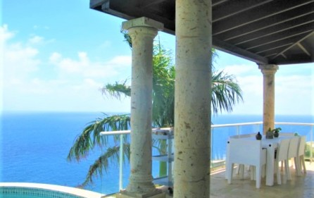 point blanche ocean front villa​ for sale 1