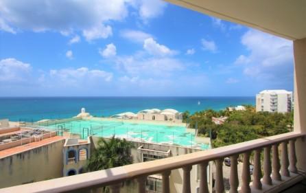 cupecoy rainbow ocean view condo for sale 11