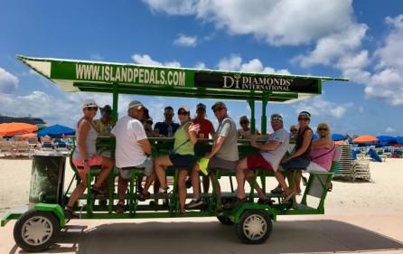 island pedals beer bike business for sale sxm beer bike  (11)