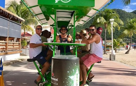 island pedals beer bike business for sale sxm beer bike  (6)