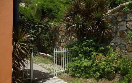 Garden Entrance View