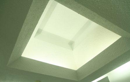 High ceiling decor