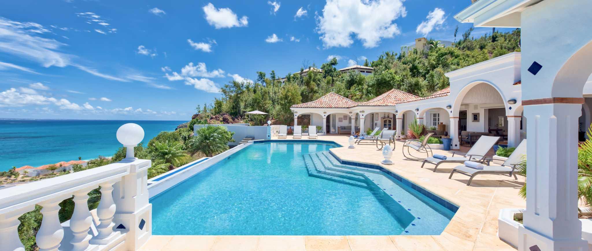 Villa Mezel Terres Basses St Martin Villa For Sale