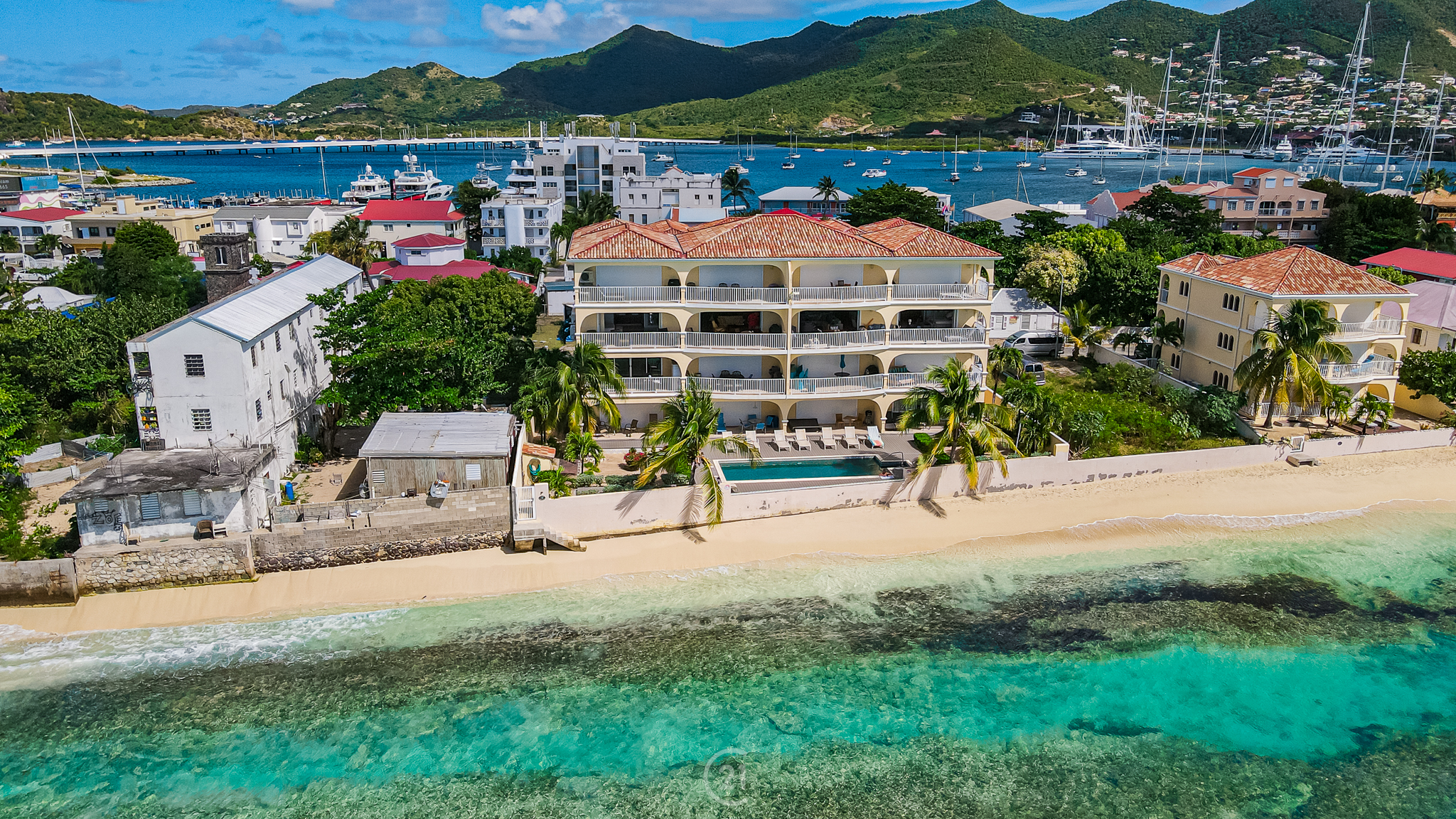 New Simpson Bay Two Bedroom Beach Apartments For Rent