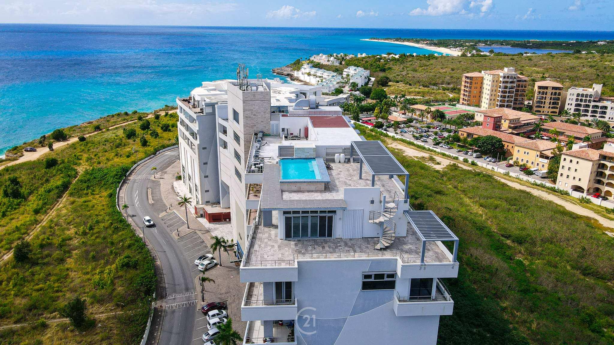 Blue Mall Residences Duplex St Maarten Penthouse For Sale