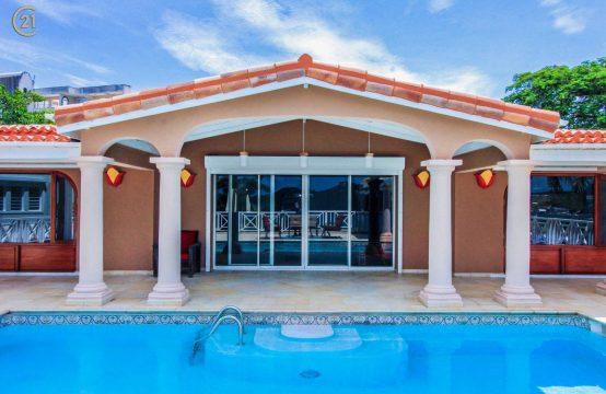 Villa Marrakesh For Rent Cupecoy St Maarten