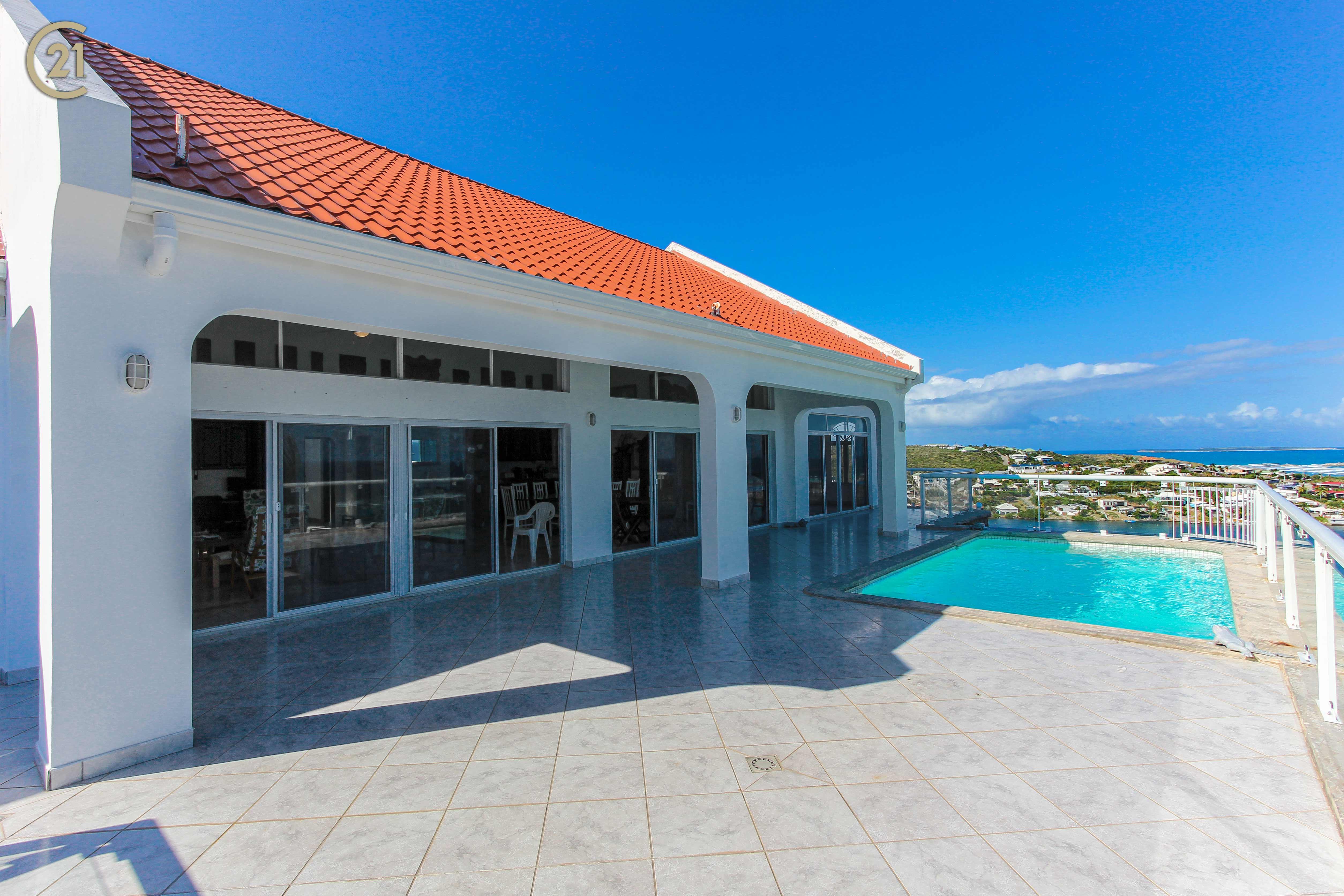Oyster Pond Best Ocean View Six Bedroom Villa