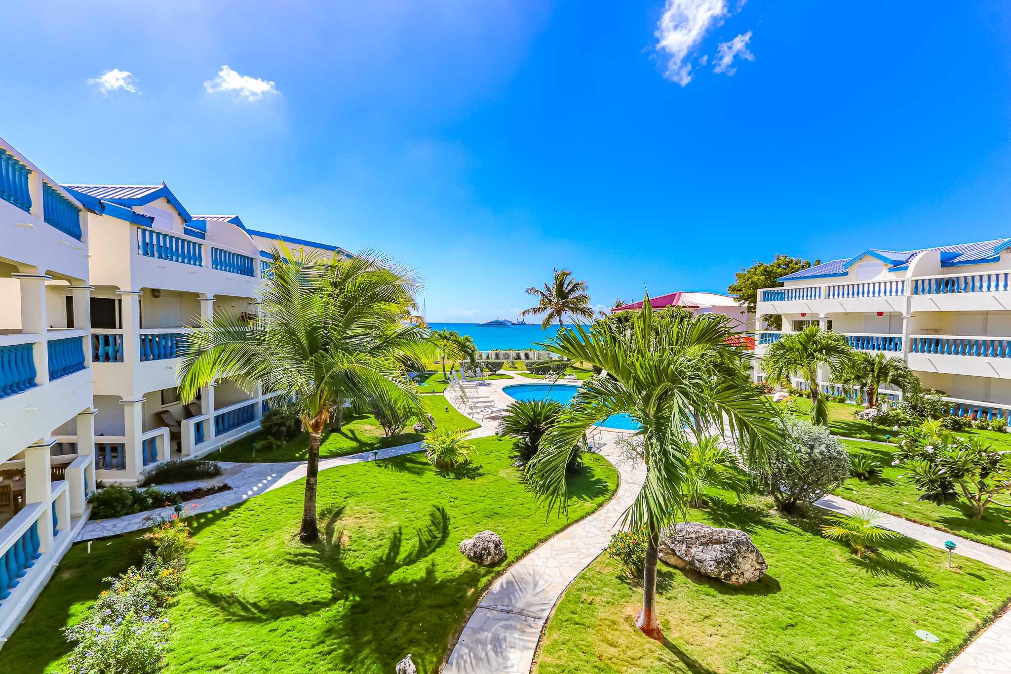 Simpson Bay Palm Beach St Maarten Condo For Sale