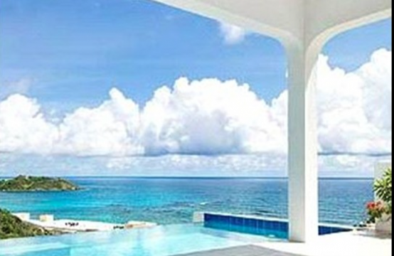 Dawn Beach Luxury Villa - Twin Palms Paradise - Infinity Pool