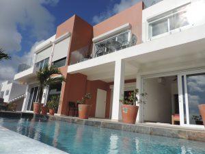 Indigo Bay Home - Exterior of Villa with pool