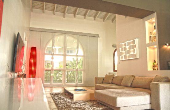 Porto Cupecoy - Modern Condo for Sale - Living Room