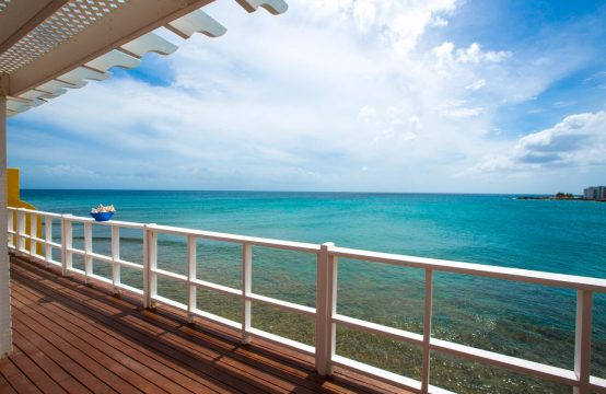 Ocean View Apartment - Deck and View