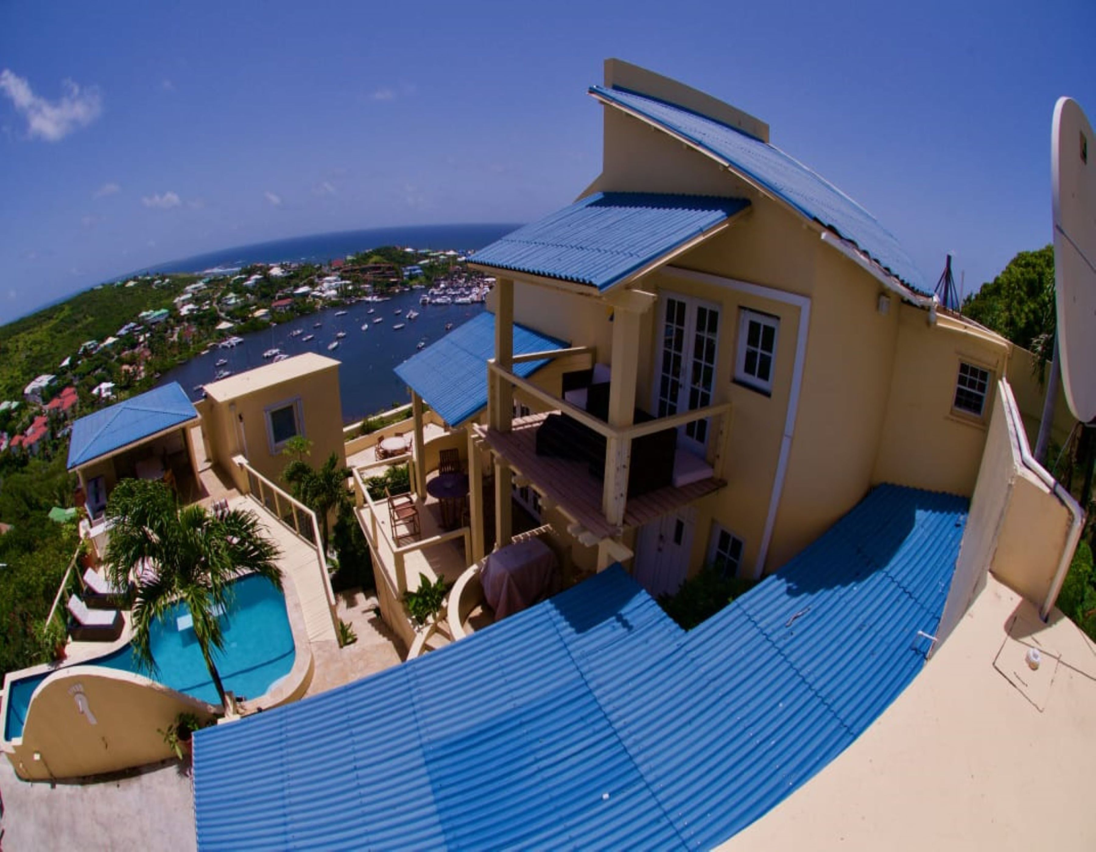 Oyster Pond Eight Bedroom Villa For Sale