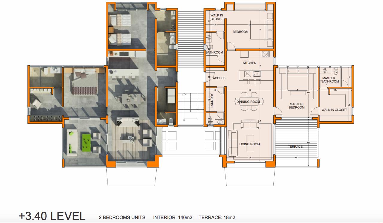 Tepui Pelican Key Two Bedroom Duplex Condo