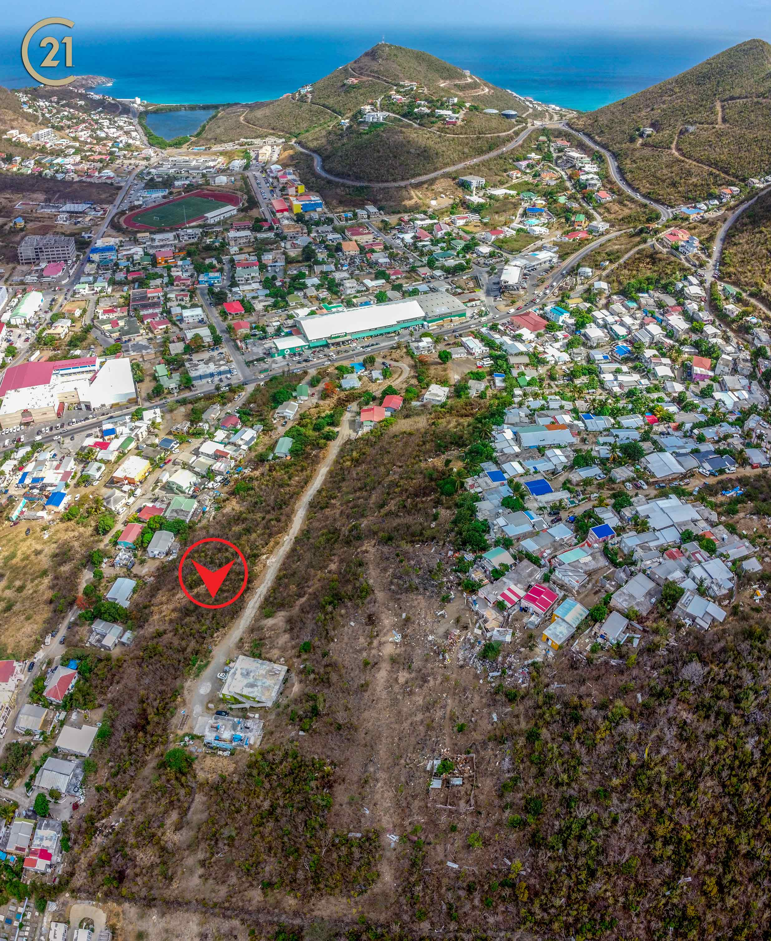 Cay Hill Development Hillside Land