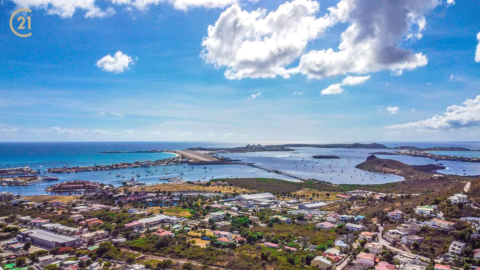 Oceanview St Maarten Land In Cole Bay For Sale