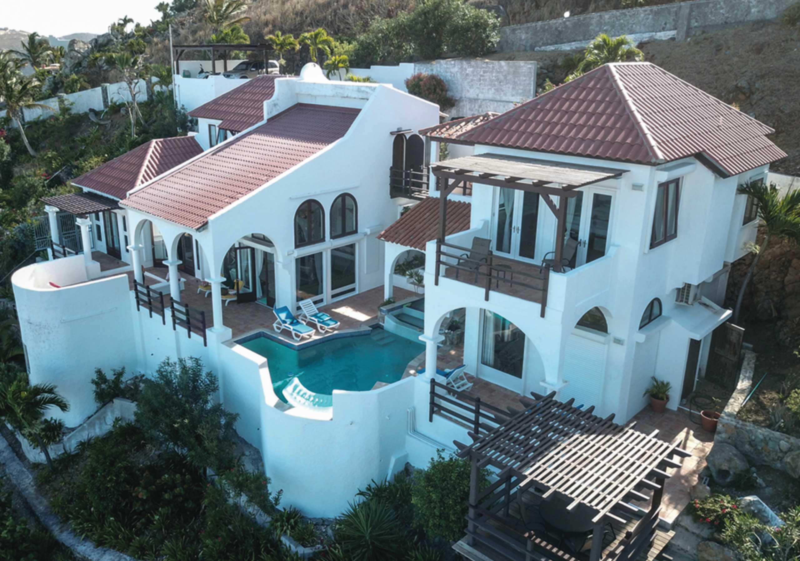 Oyster Pond St Maarten Villa Magnificence For Sale