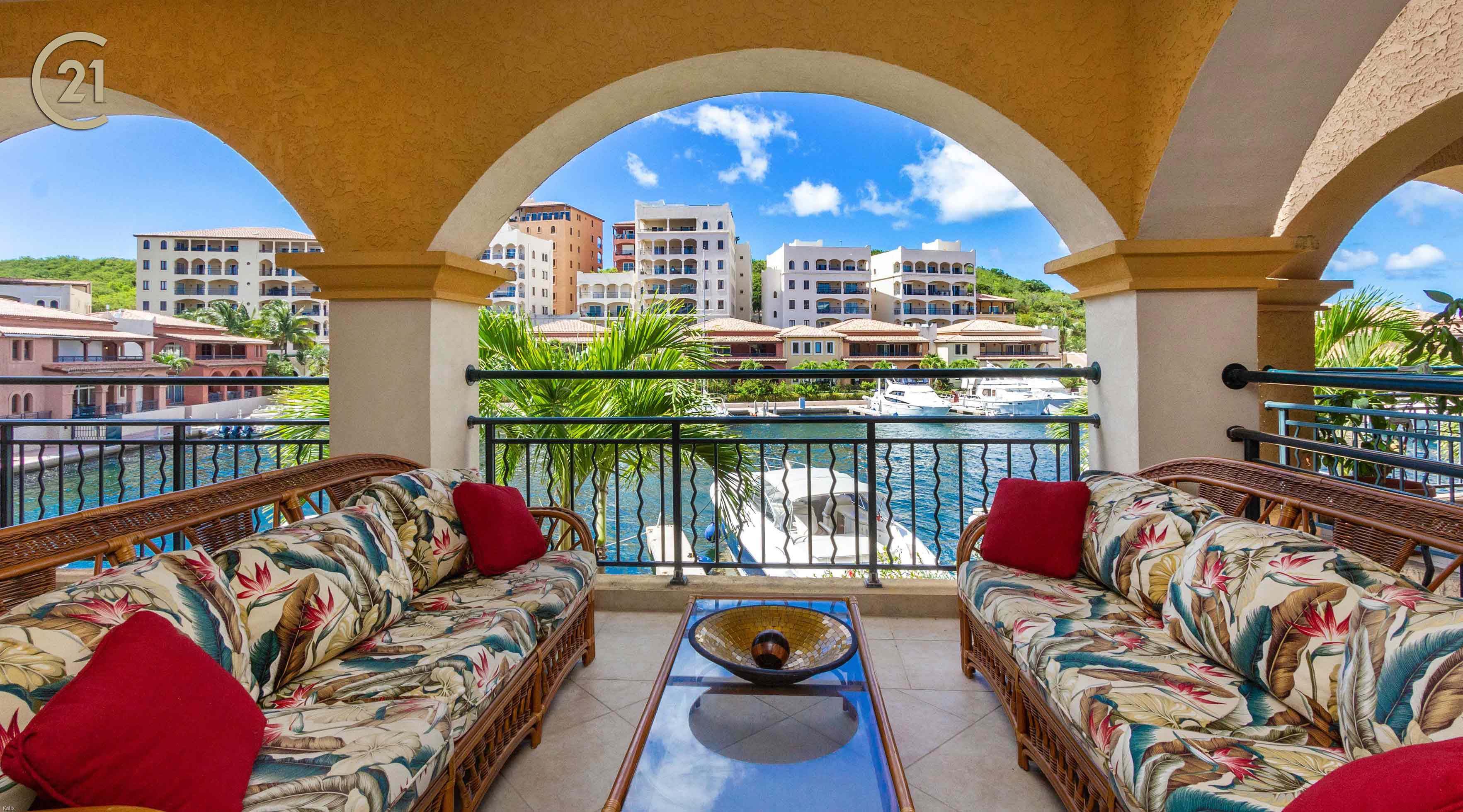 Porto Cupecoy Luxury Three Bedroom Condo For Rent