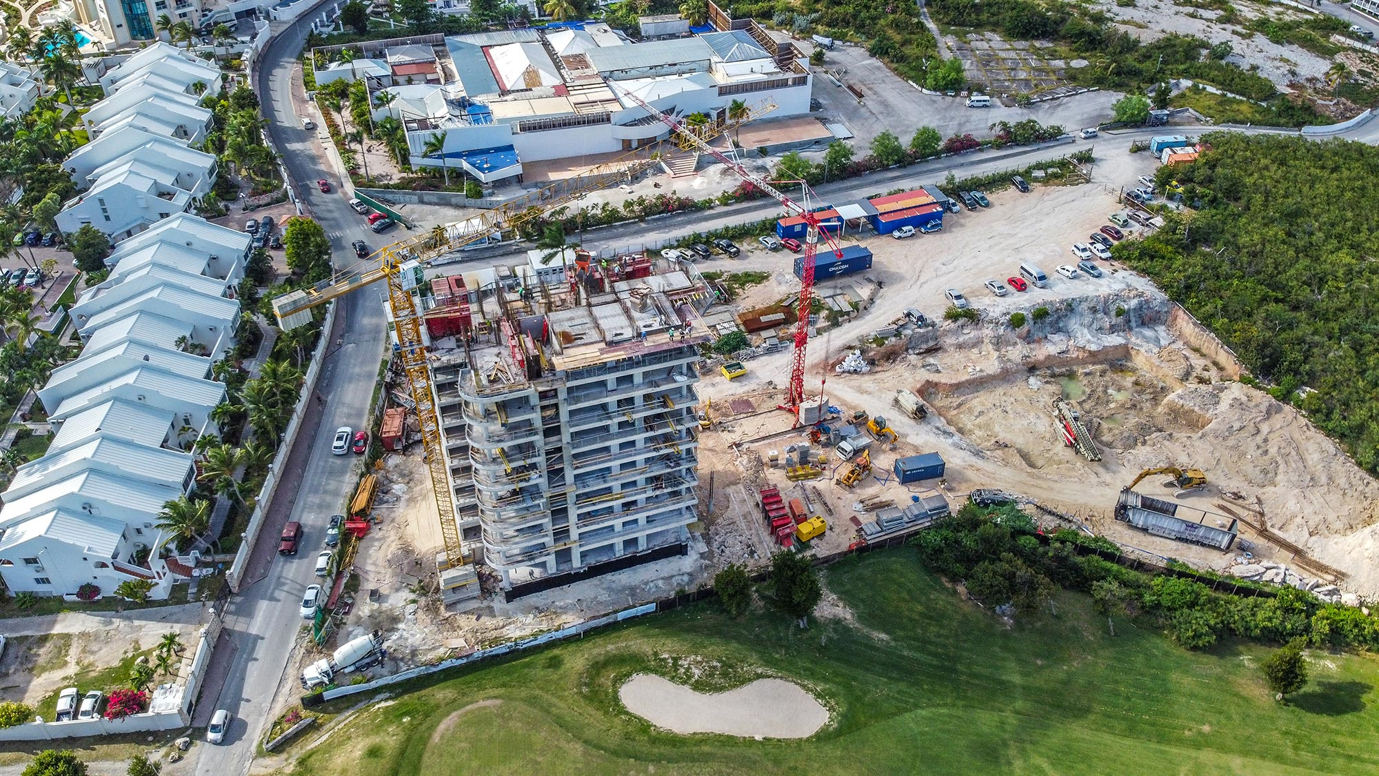 February 2020 Construction Update - The Fourteen Mullet Bay Towers