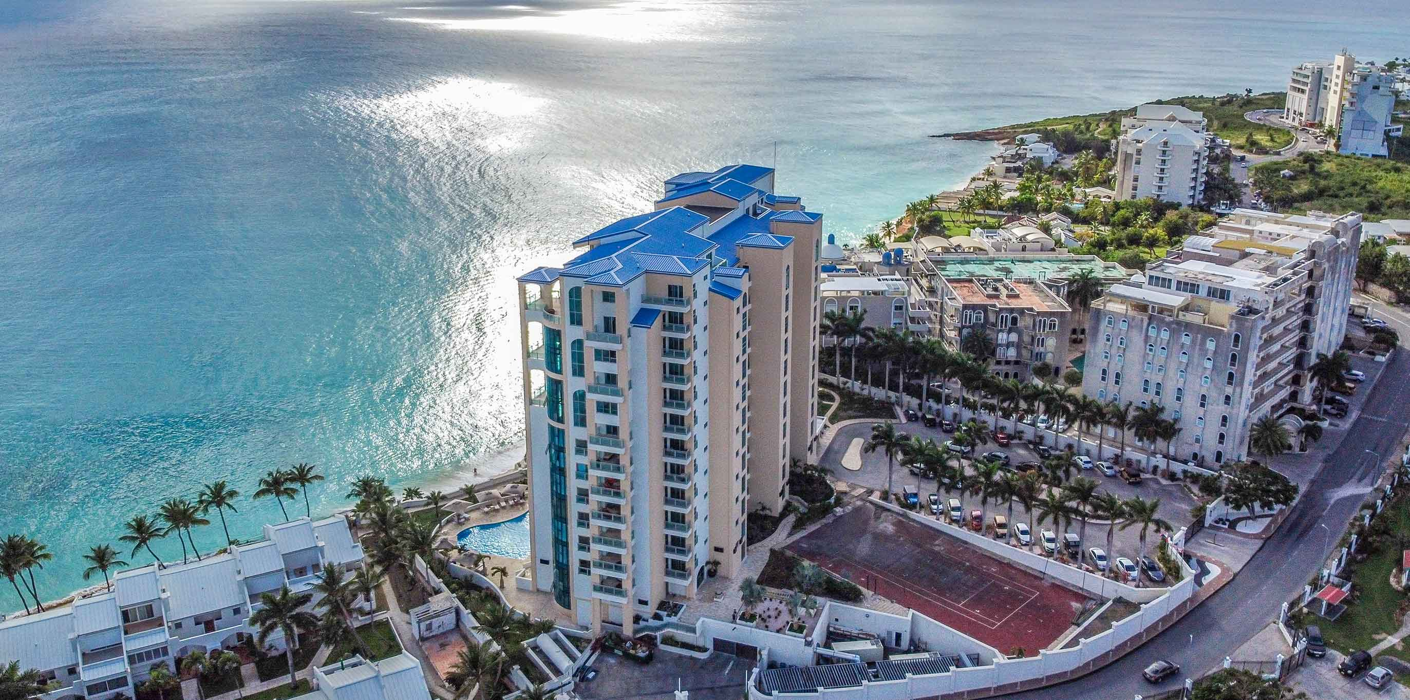 The Cliff – A Modern Cupecoy Beachfront Penthouse