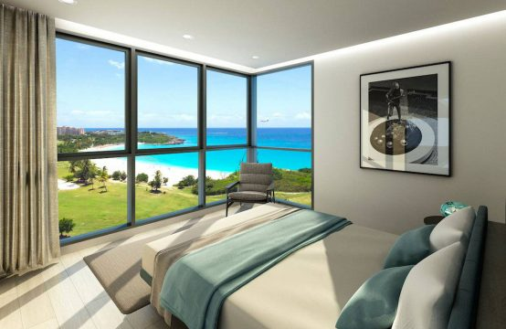 Mullet Bay Condos Bedroom with Oceanviews