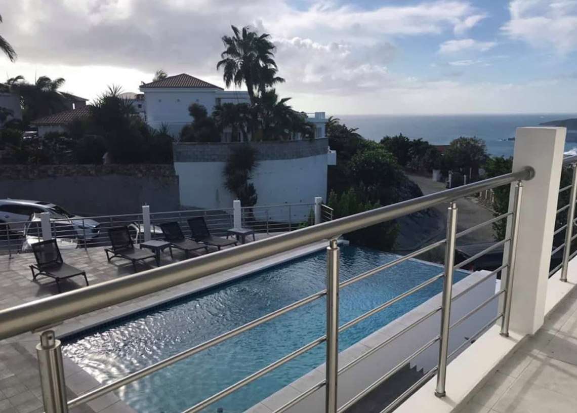 Pointe Blanche Ocean View Apartment For Rent