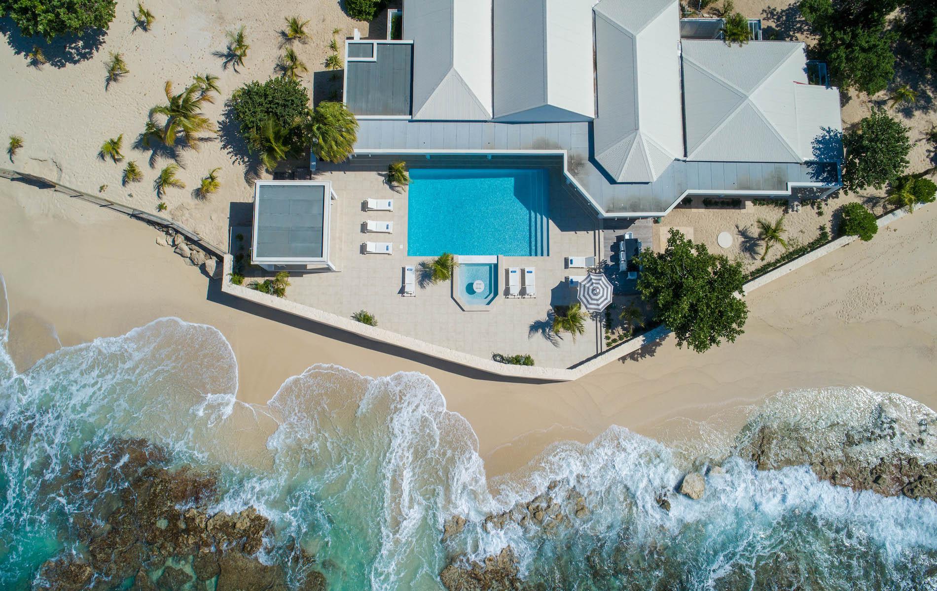 Luxury 4 Bedroom Beachfront Villa, Ecume Des Jours Terres Basses Saint Martin