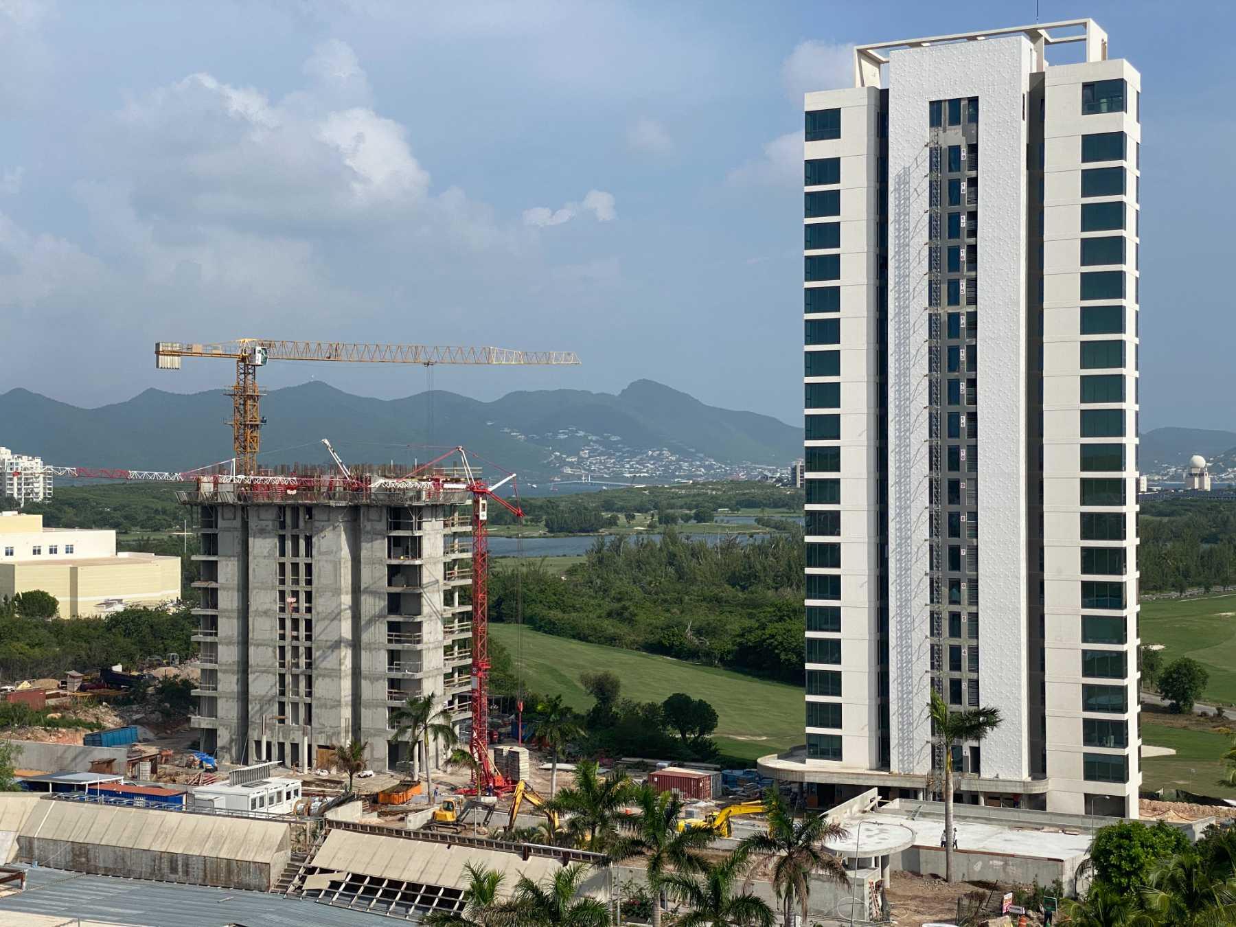 Fourteen Mullet Bay Condos Construction Update 2021