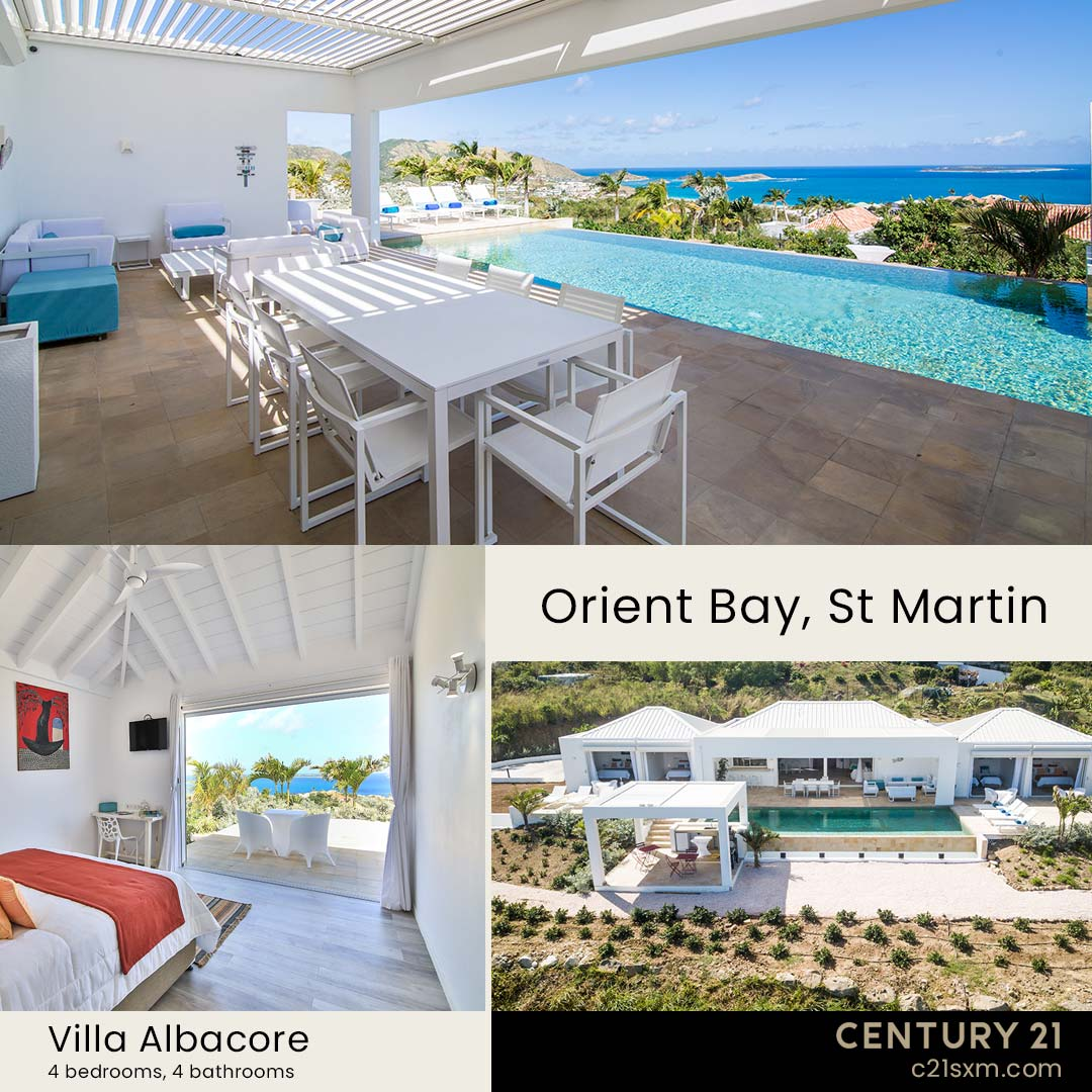 Albacore St Martin Villa For Rent