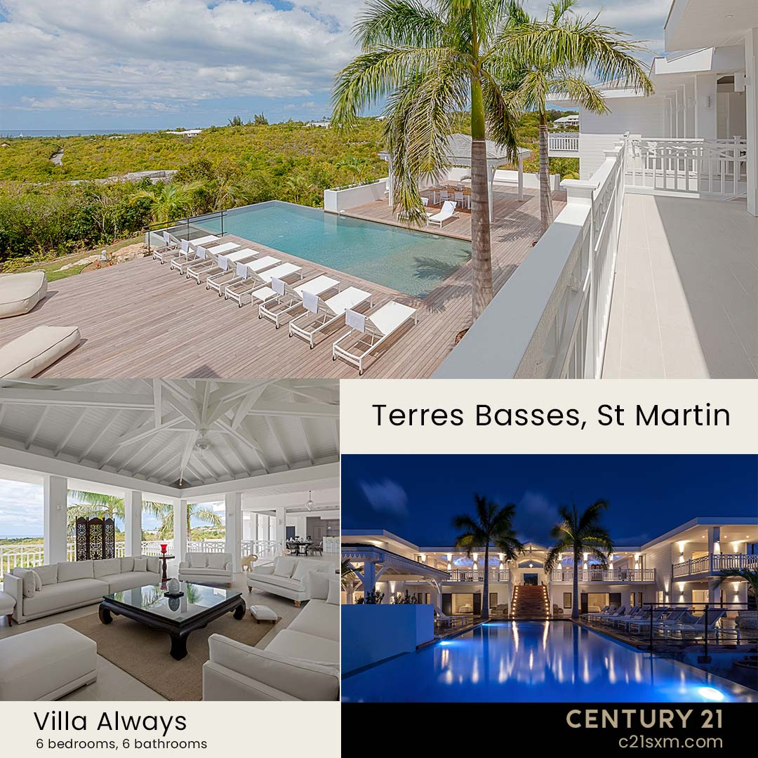 Always St Martin Villa For Rent