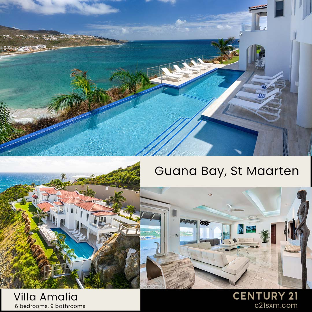 Amalia St Maarten Villa For Rent
