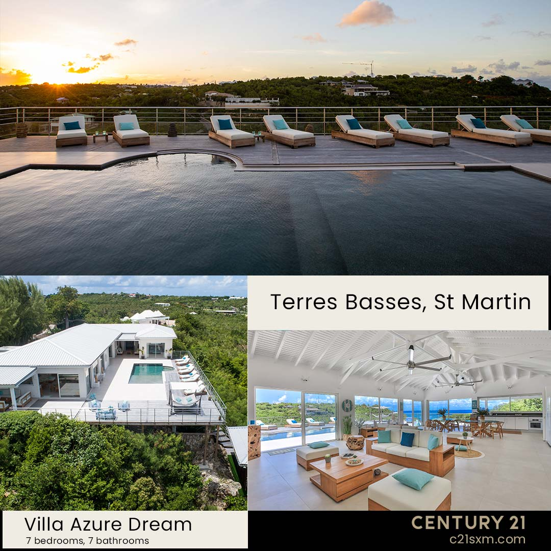 Azure Dream Terres Basses Villa For Rent