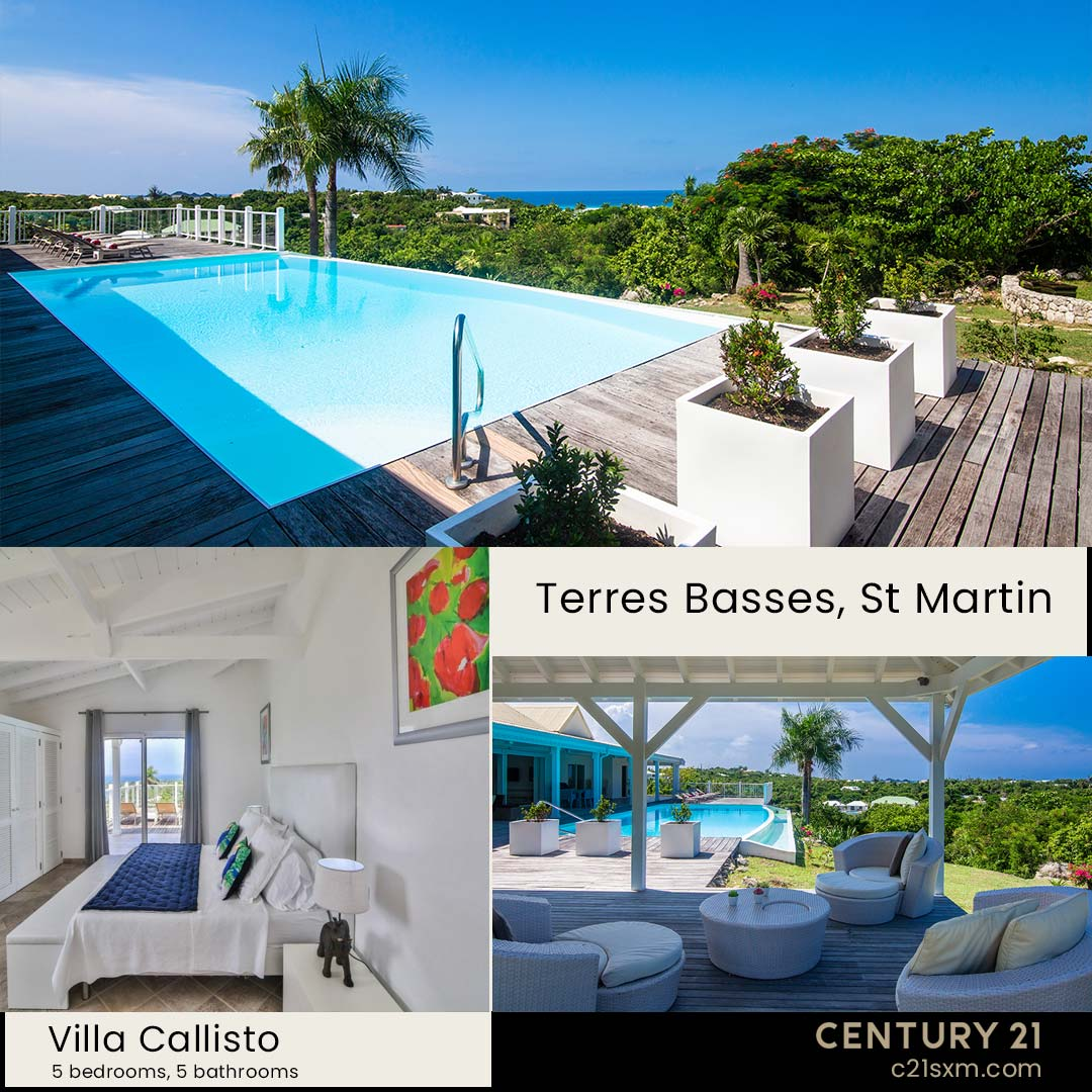 Callisto Terres Basses Villa For Rent