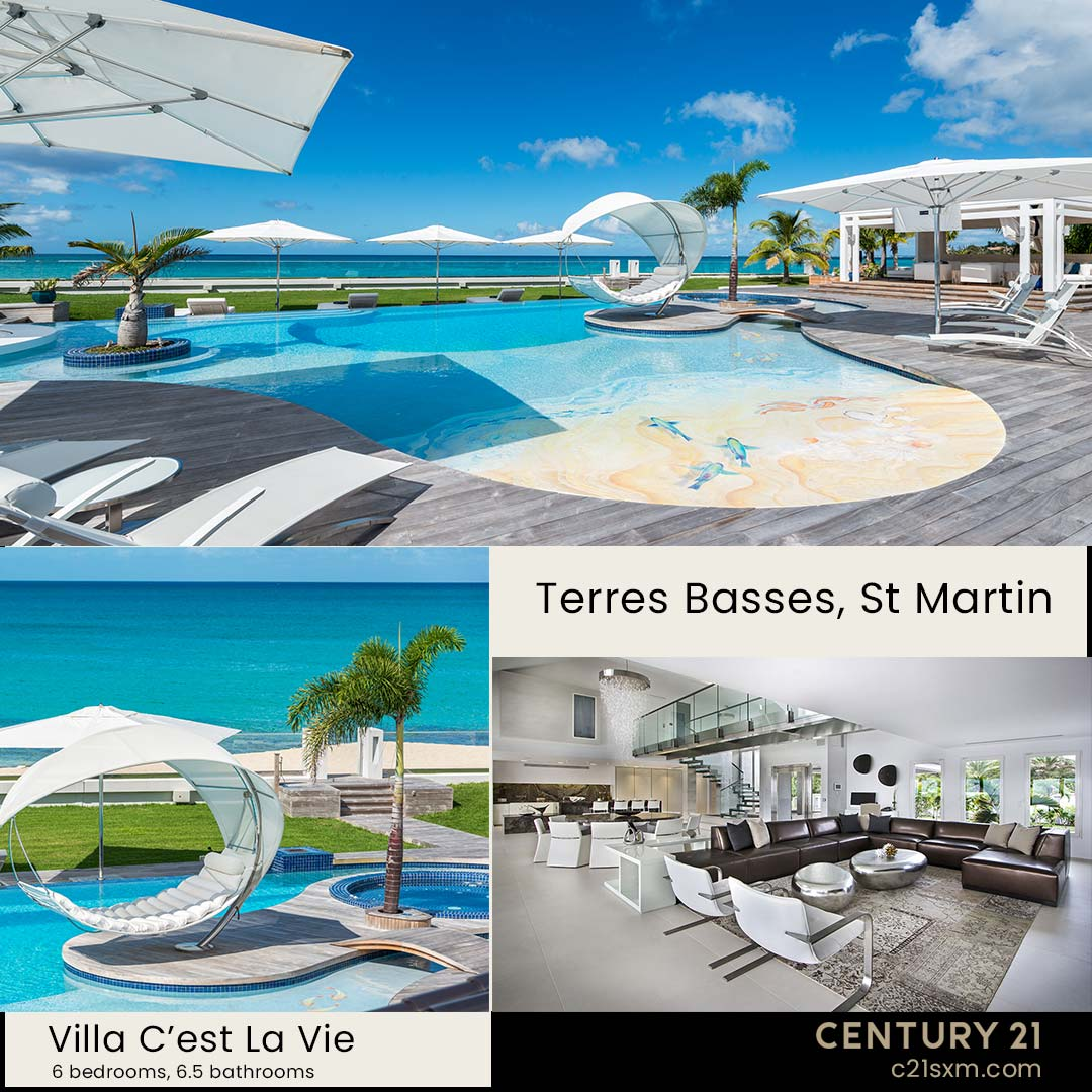 C'est La Vie Terres Basses Villa For Rent