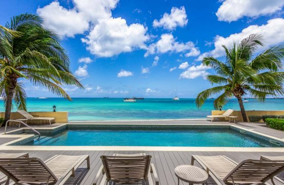 Beachfront Ground Floor Simpson Bay Condo for Sale