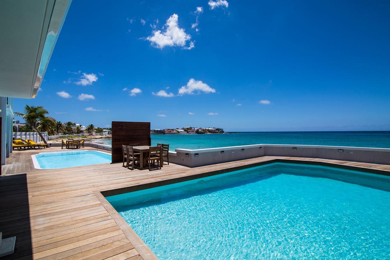 Beacon Hill Two Bedroom Luxury St Maarten Beach Cottage