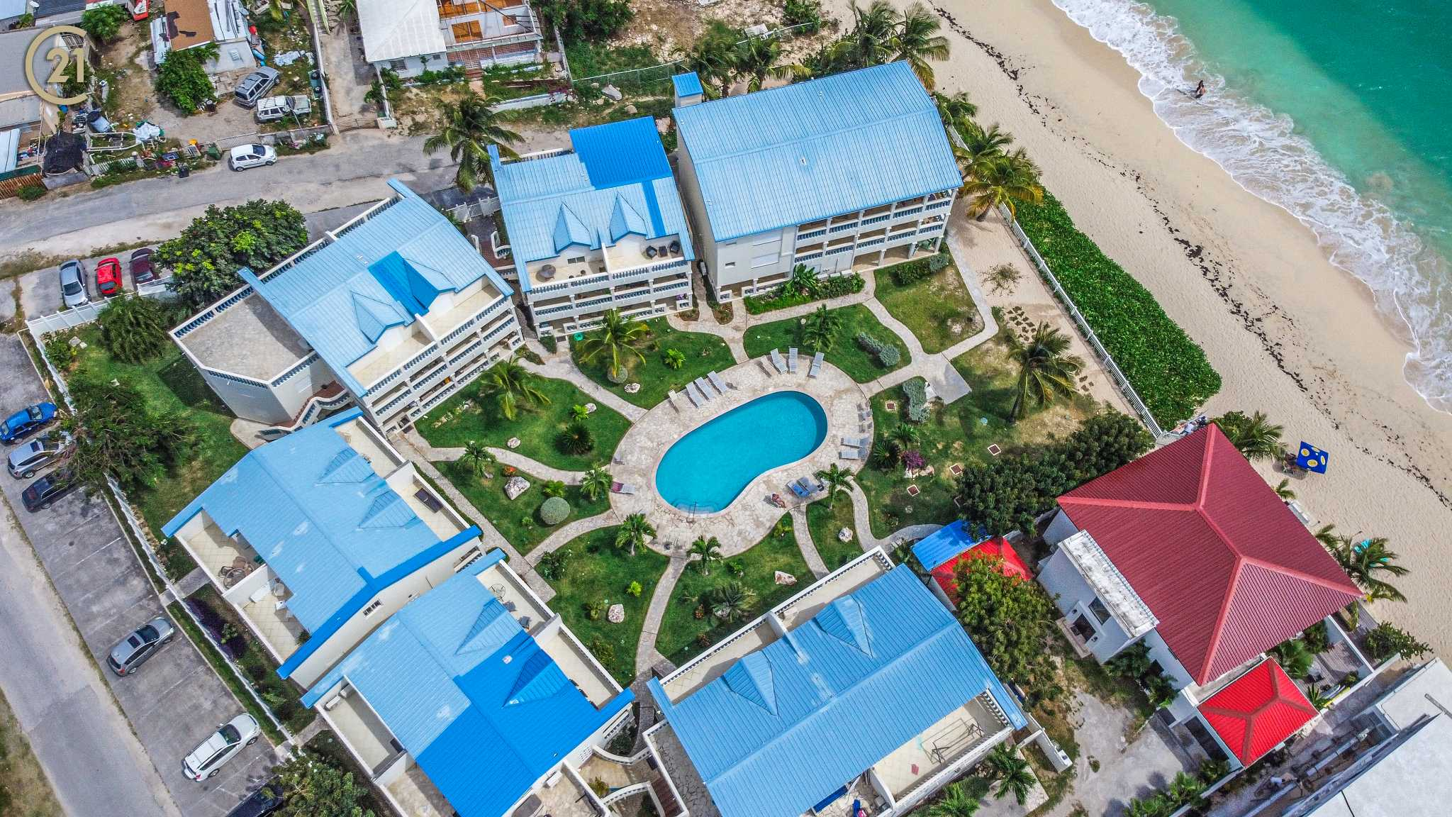 Breeze Simpson Bay Beach One Bedroom Apartment For Rent