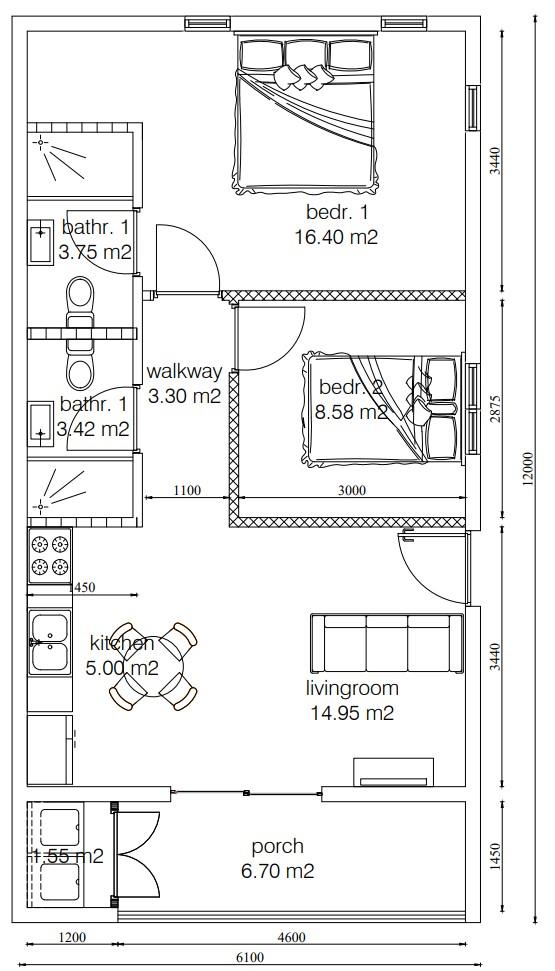 Carbon Grove Cole Bay Floor Plan