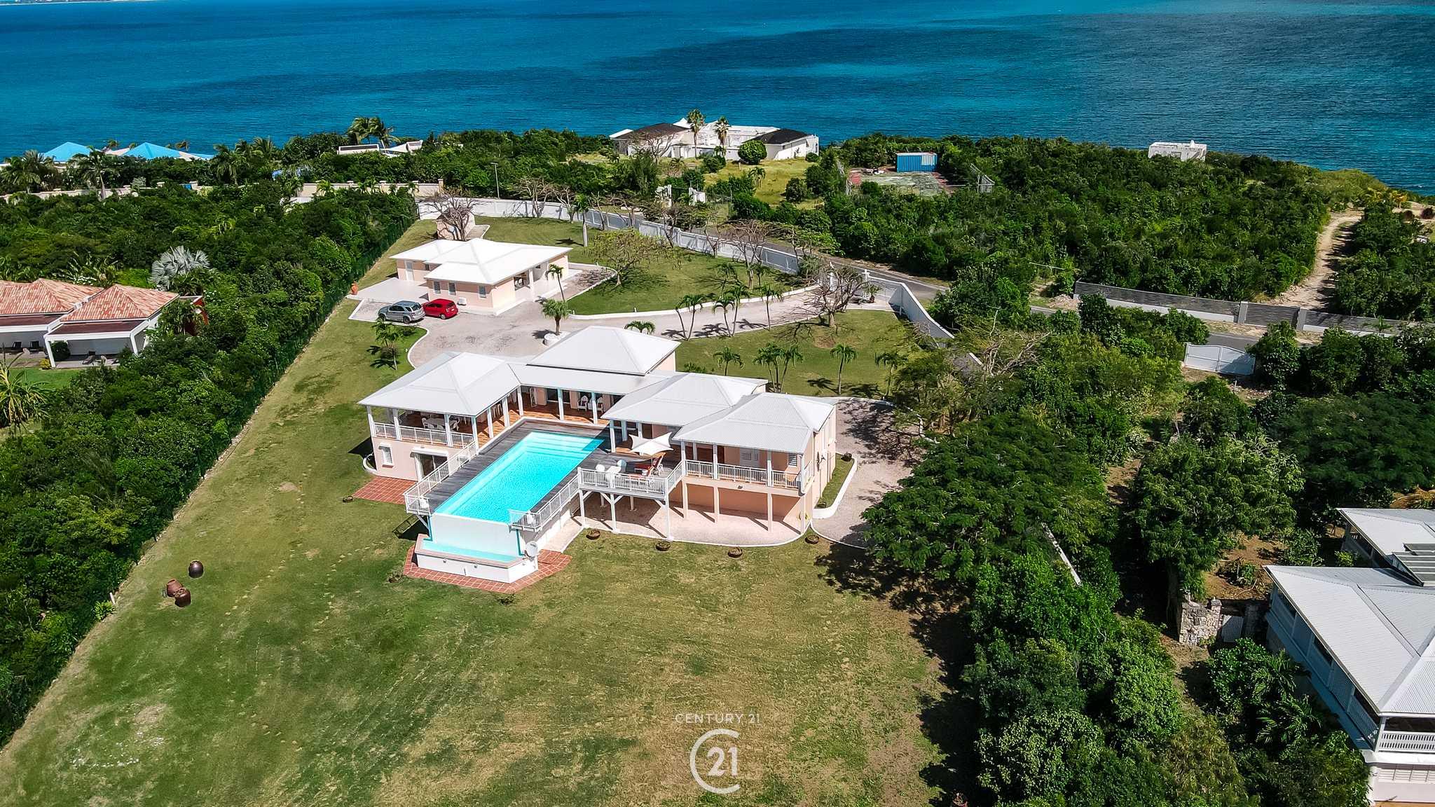 Perfect View Six Bedroom Terres Basses Villa For Sale
