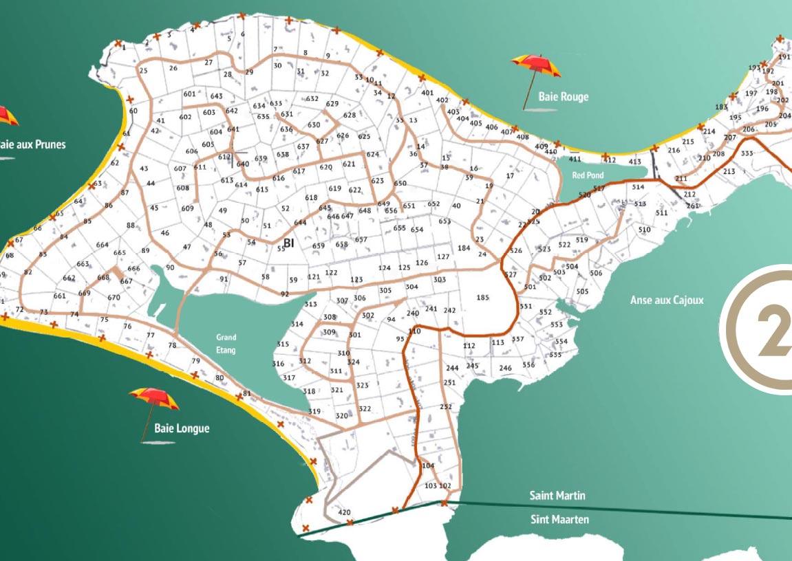 Terres Basses Map