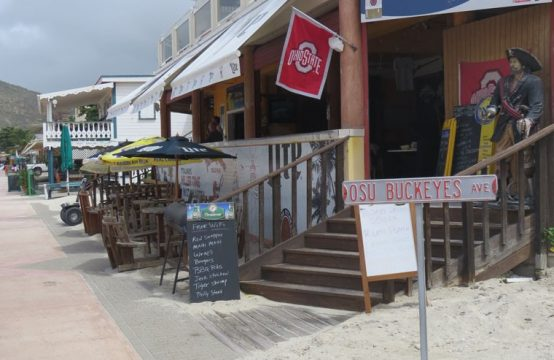 St Maarten Beach Bar Business For Sale On Philipsburg Boardwalk