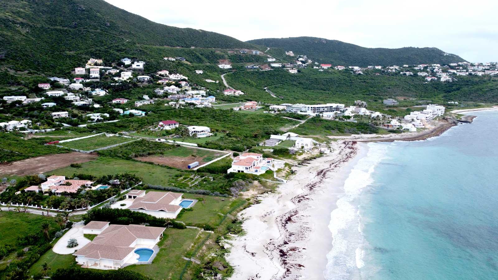 St Maarten villas in Guana Bay St Maarten