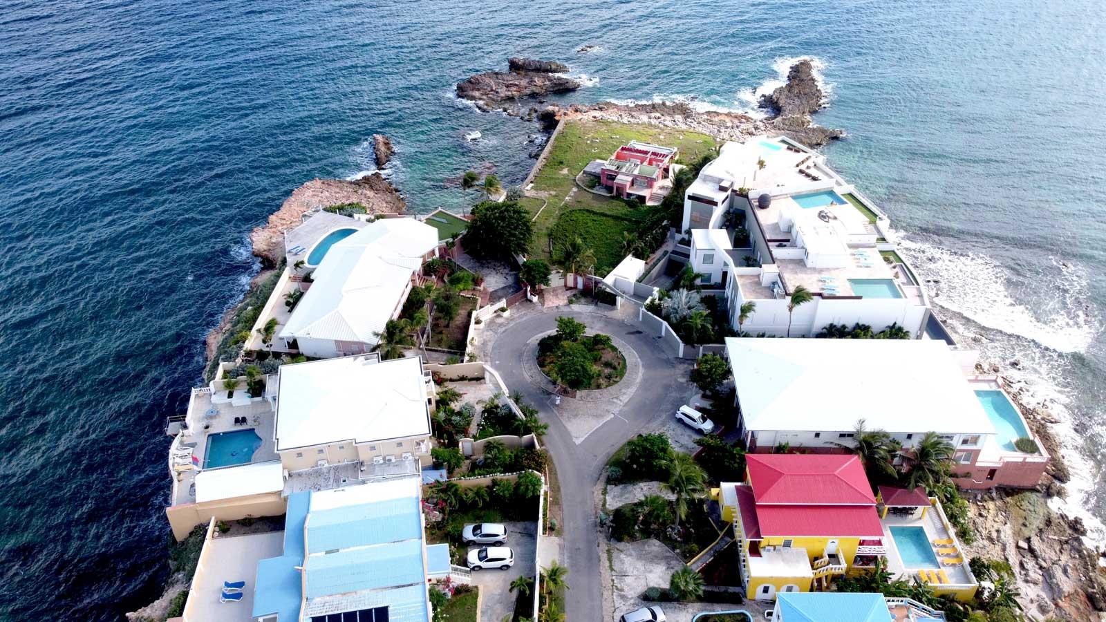 St Maarten ocean front villas