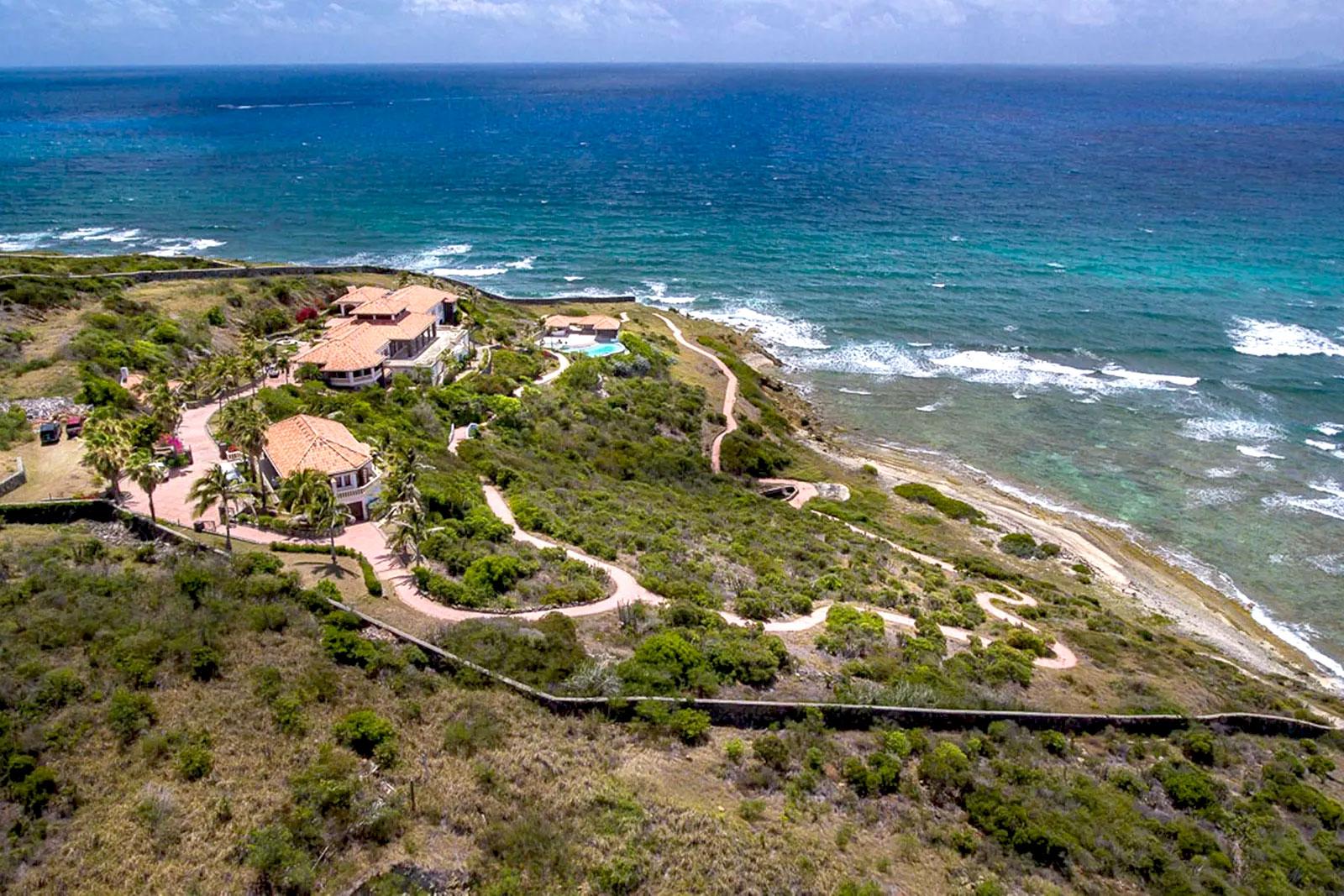 Spectacular Red Pond Villa – Largest Beachfront Estate In St Maarten