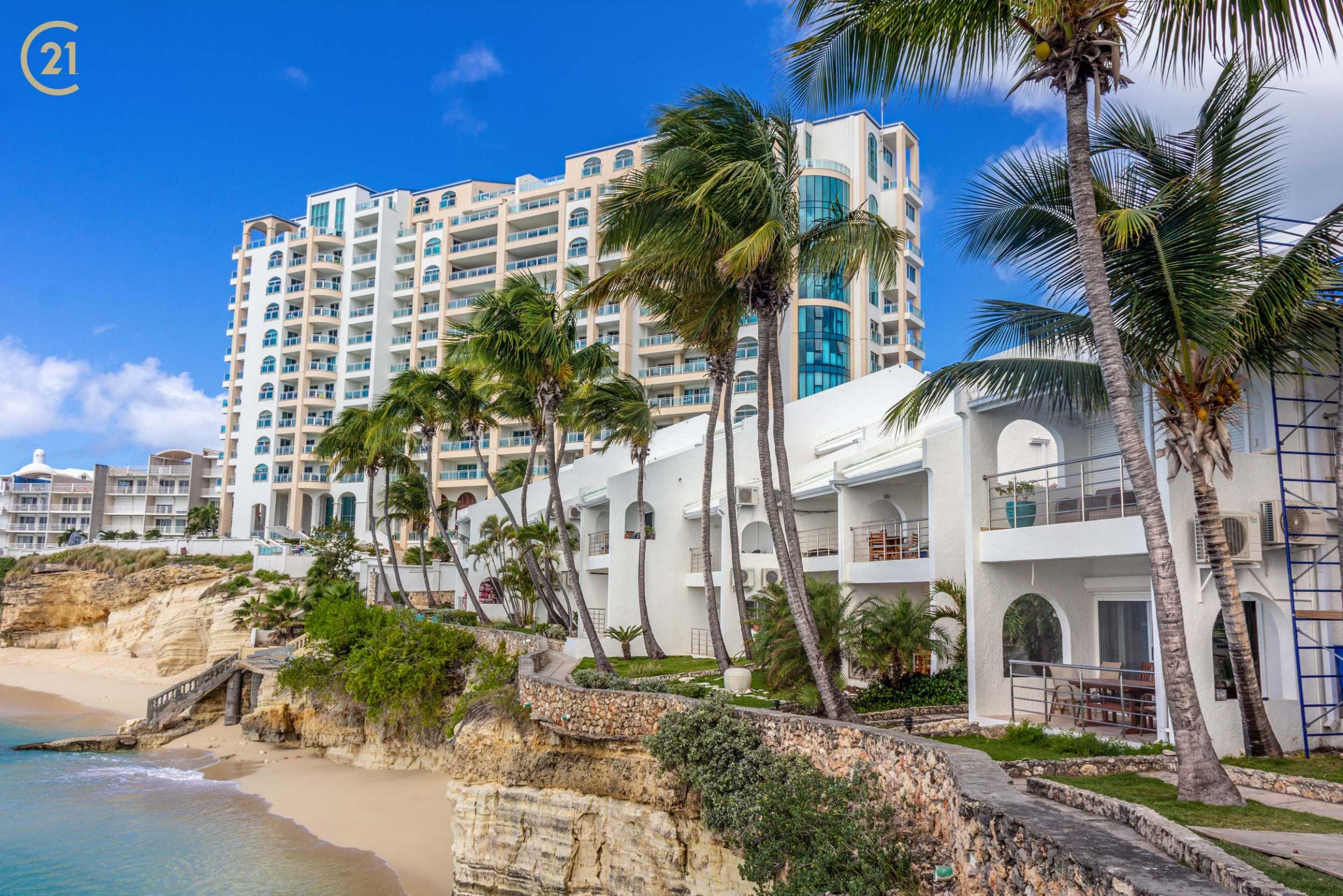 Cupecoy Beach Club Two Bedroom Condo For Sale
